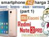 Duel Smartphone 4G harga 3juta (part 1) : Xiaomi Redmi Note 3 PRO