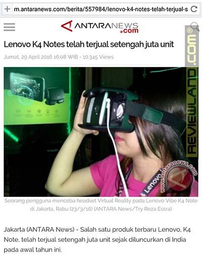 smartphone-lenovok4note-soldindia