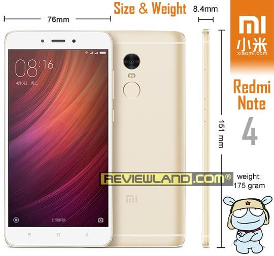smartphone-xiaomiredminote4-size