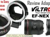 Review Adapter Lensa Canon to Sony : Viltrox EF-NEX III
