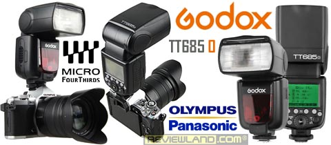 Review flash Godox TT685 for Olympus & Panasonic