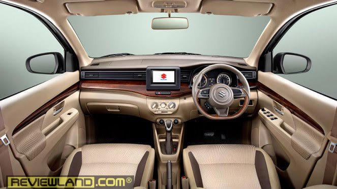 car-ertiga2018-interior2